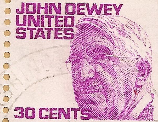 John Dewey, Foto: United States Postal Service