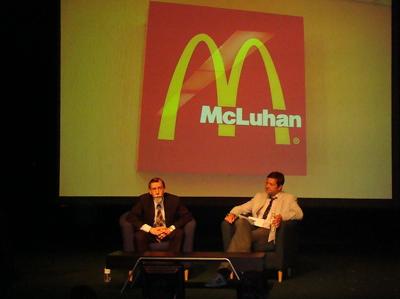 Foto: McLuhan 2.0 bei Mediacology